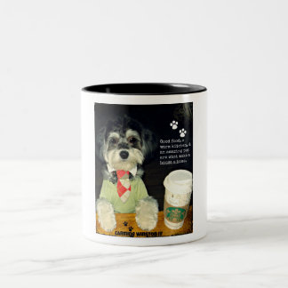 "Carmine Winston III--""A Good Pup..."" Mug"