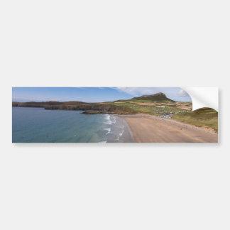 Carn Llidi and Whitesands Bay Wales Bumper Sticker