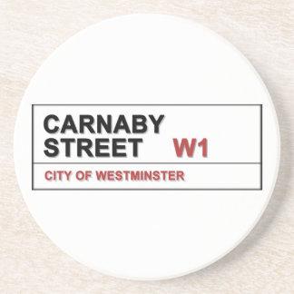 Carnaby Street London England - Swinging! Coasters