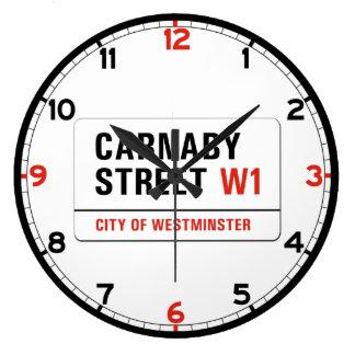 Carnaby Street, London Street Sign