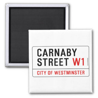 Carnaby Street Magnet