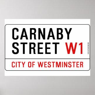 Carnaby Street Print