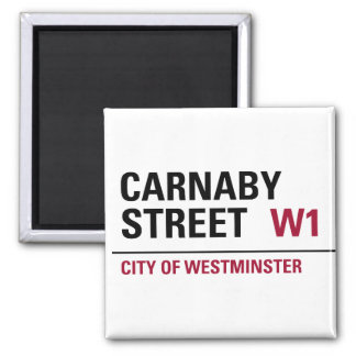Carnaby Street Sign Fridge Magnet