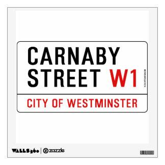 Carnaby Street Wall Decal