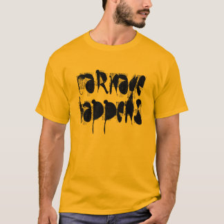 """Carnage Happens"" t-shirt"