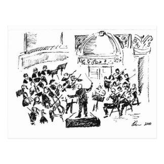 carnagie hall concert 2010 postcard
