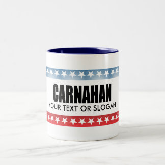 CARNAHAN 2010 COFFEE MUGS