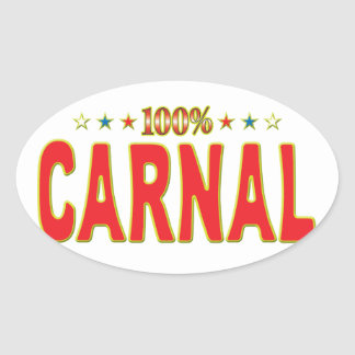 Carnal Star Tag Stickers