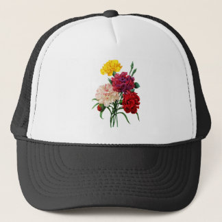 Carnation and Marigold Bouquet by Redoute Trucker Hat
