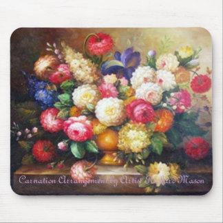 Carnation Arrangement by Richard Mason Mouse Pad