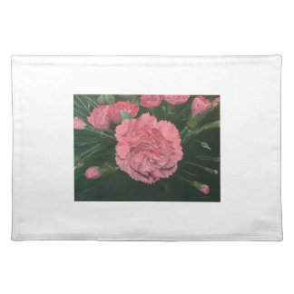 Carnation celebration.  Classic yet contemporary. Placemat