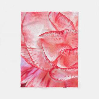 Carnation Fleece Blanket, (30 in x 40 in)