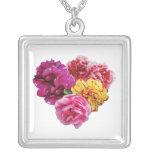 Carnation Heart Mixed Colors Custom Jewelry