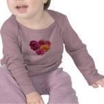 Carnation Heart Mixed Colors Tshirt