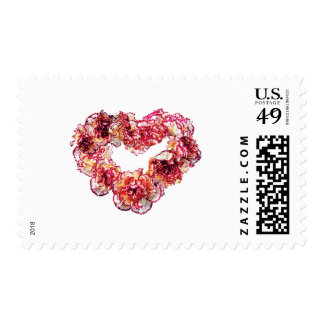 Carnation Heart Postage