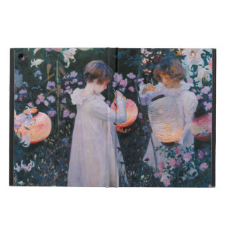 Carnation, Lily, Lily, Rose by John Singer Sargent Cover For iPad Air