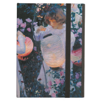Carnation, Lily, Lily, Rose by John Singer Sargent iPad Air Cases