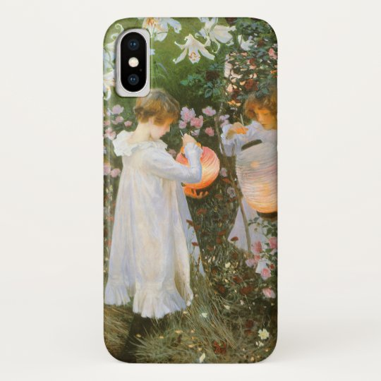 Carnation, Lily, Lily, Rose By John Singer Sargent iPhone X Case