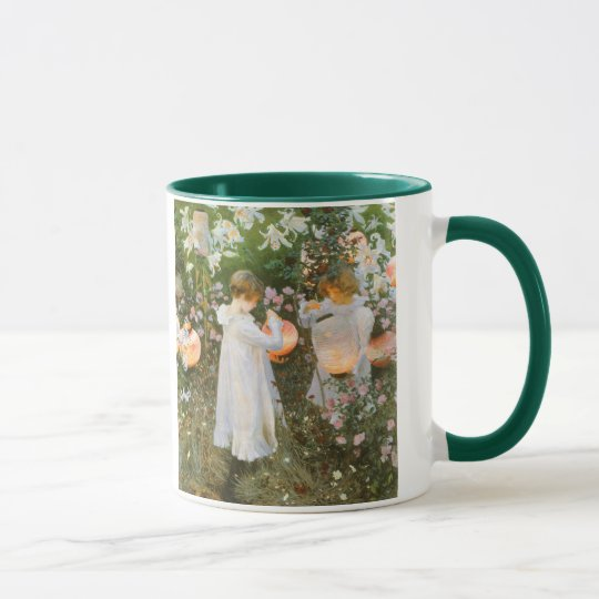 Carnation, Lily, Lily, Rose By John Singer Sargent Mug