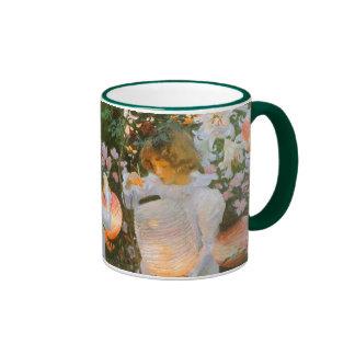 Carnation, Lily, Lily, Rose By John Singer Sargent Ringer Coffee Mug