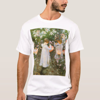 Carnation, Lily, Lily, Rose By John Singer Sargent T-Shirt