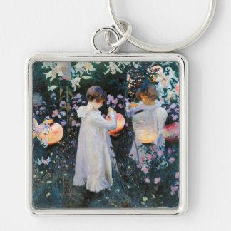 Carnation, Lily, Lily, Rose - John Singer Sargent Keychain