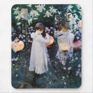 Carnation, Lily, Lily, Rose - John Singer Sargent Mouse Pad