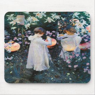 Carnation, Lily, Lily, Rose - John Singer Sargent Mousepads
