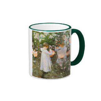 Carnation Lily Lily Rose Sargent Victorian Art Mugs