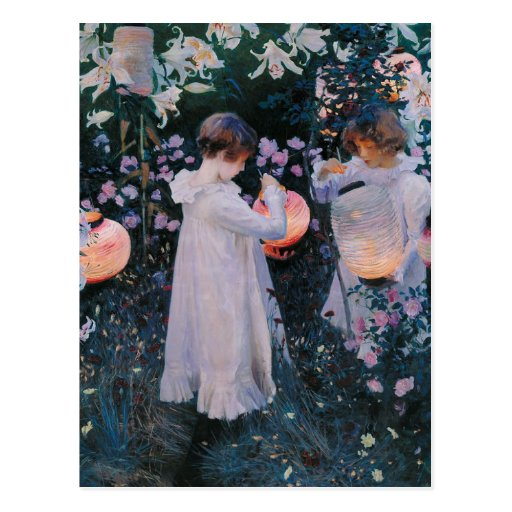 Carnation Lily Lily Rose Vintage Postcard