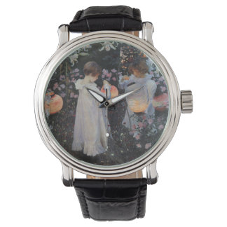 Carnation Lily Lily Rose Wristwatches