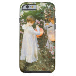 Carnation, Lily, , Rose, Sargent Victorian Art iPhone 6 Case