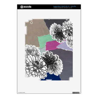 Carnation of india iPad 3 decal