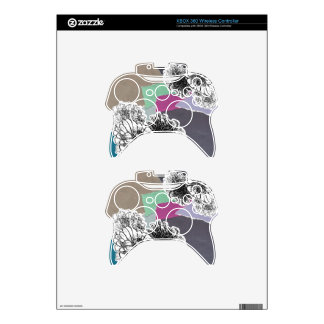 Carnation of india xbox 360 controller skin