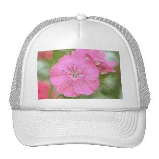Carnation Pink Sweet Williams Trucker Hat
