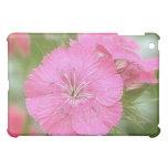 Carnation Pink Sweet Williams iPad Mini Cover