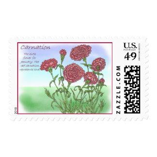 Carnation Postage Stamp