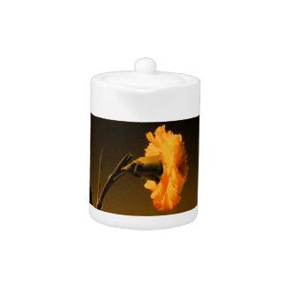 Carnation Teapot
