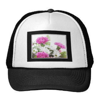 Carnations and Daisies Trucker Hat
