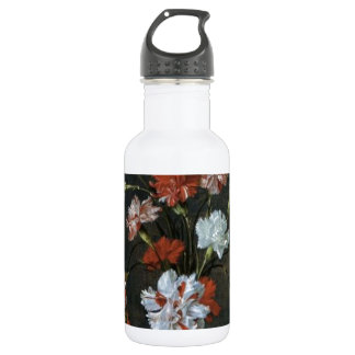 Carnations In A Glass Vase Stainless Steel Water Bottle