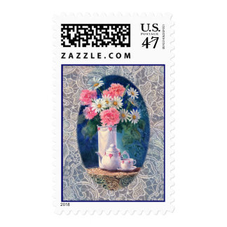 CARNATIONS & OLD LACE by SHARON SHARPE Postage