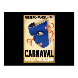 Carnaval 1941 de Habana Carnaval La Habana Postal