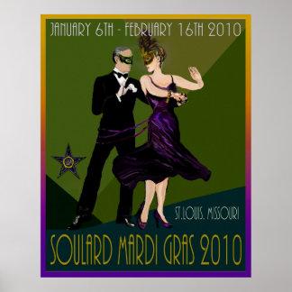 Carnaval 2010 de Soulard Posters