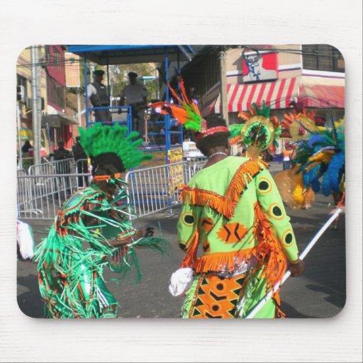 Carnaval 2010 en Trinidad Alfombrillas De Raton