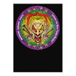 Carnaval 2011 Joker-V-3 Invitación 12,7 X 17,8 Cm