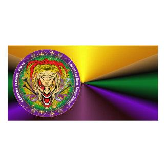 Carnaval 2011 Joker-V-3 Tarjetas Fotográficas Personalizadas
