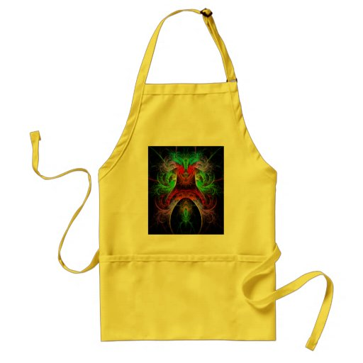 Carnaval Abstract Art Apron