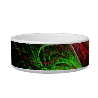 Carnaval Abstract Art Cat Bowl