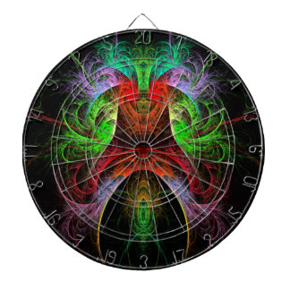 Carnaval Abstract Art Dartboard