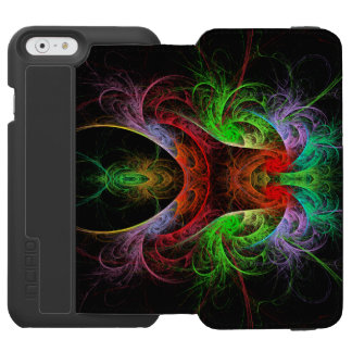 Carnaval Abstract Art iPhone 6/6s Wallet Case